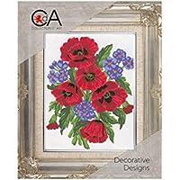 Collection D´Art Tapiz, diseño de Flores de Amapolas