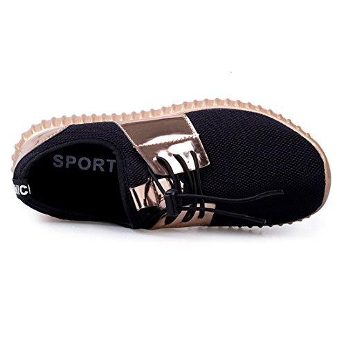 Greaten , Chaussures de running pour homme Doré