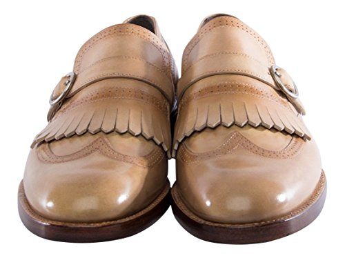 berluti-neutral-beige-leather-monkstrap-wingtip-shoes-size-8