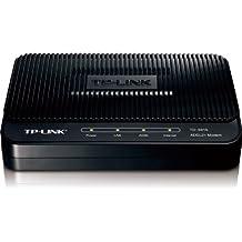 TP-Link TD-8616 ADSL2 Plus Modem, 1 RJ45, Bridge Mode, Annex A, ADSL Splitter, 24 Mbps Downstream,