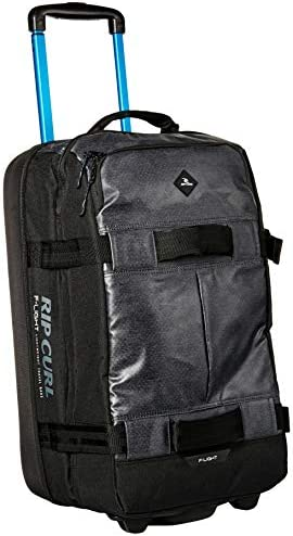 Rip Curl Men s F-Light Transit Lightweight Wheel Roller Carry on Bag