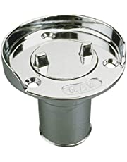 Sea-Dog 351750-1 Chrome Gas Hose Deck Fill with Splash Guard