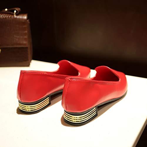 Appartamenti Estivi Sandali Eleganti Loafers Donna Donna Appuntito Singole Scarpe Casuale Morbida Superficiale sandali moda Somesun bocca Sandali 5SwYHTqH