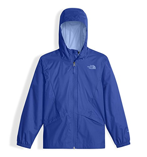 The North Face Girl's Zipline Rain Jacket, Origin Blue, XX-Small
