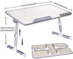 MAPUX Mesa para Ordenador Portatil Plegable Soporte para ...