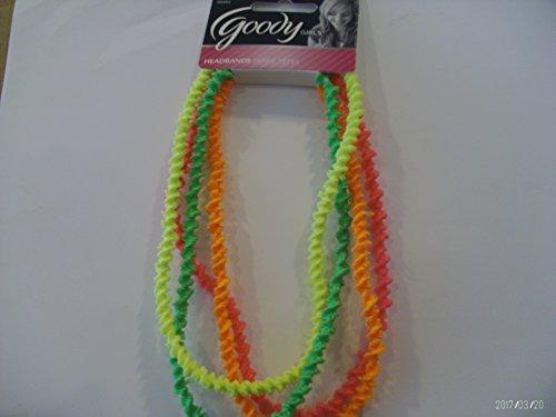 Goody Glam Girls Neon Headbands 4 Count #06402