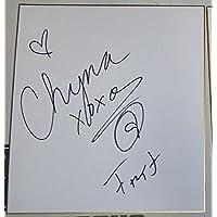Chyna Signed Shikishi Japanese Art Board PSA/DNA COA WWE DX Wrestling Autograph - Autographed Wrestling Miscellaneous Items photo