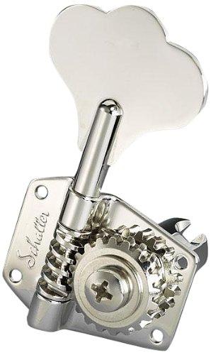 Schaller BMNIL 534 Bass Machine Head BM - Open 4 left - Nickel by Schaller