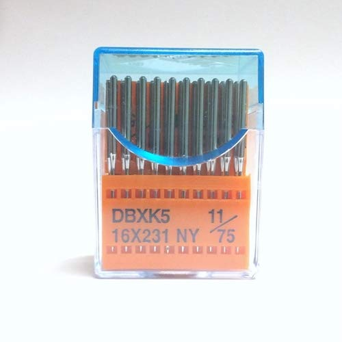 100 Pack Sharp 75//11 Chrome Embroidery Needles