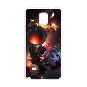 Samsung Galaxy Note 4 White phone case Tristana league of legends LOL2072593