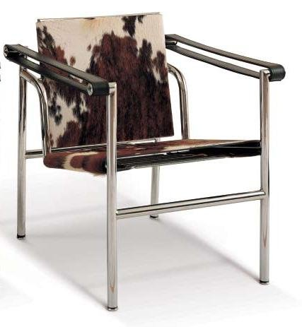 (Le Corbusier LC1 Sling Chair - Alphaville Design)