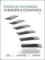 Statistical Techniques in Business and Economics, 15th Edition