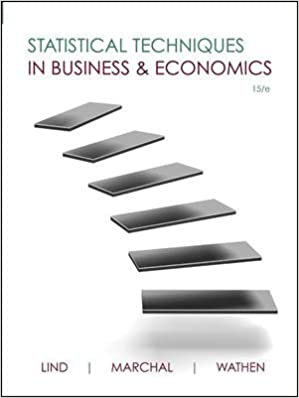 statistical techniques in business and economics 17th edition answers