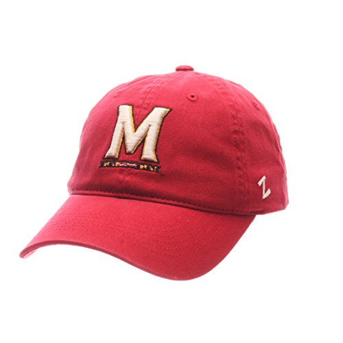 Zephyr NCAA Maryland Terrapins Men's Scholarship Relaxed Hat, Adjustable Size, Team Color (Maryland Hat Zephyr)