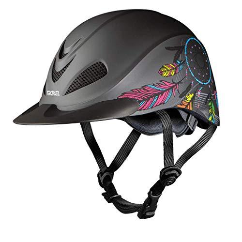 TROXEL - Rebel Western Riding Helmet ♦ Low Profile ♦ SEI/ASTM Certification ♦ All Sizes & Styles (Dreamcatcher, Small)