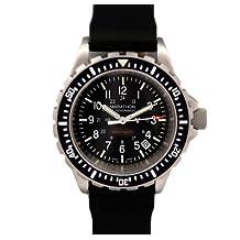 MARATHON WW194007 TSAR Swiss Made Military Issue Milspec Diver's Quartz Watch with Tritium Illumination