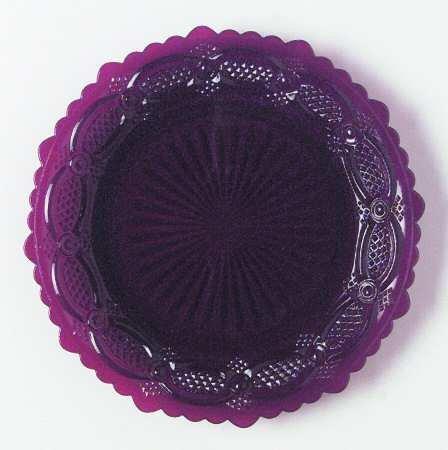 Avon 1876 Cape Cod Salad Plate - Ruby Pattern -  B0041T1QW2