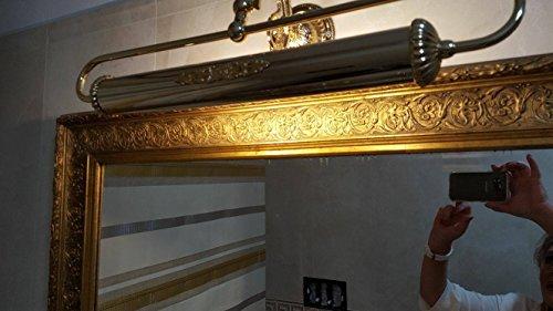 Applique grande classico per quadri in ottone oro francese amazon
