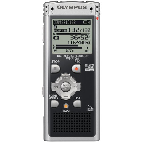 Olympus WS-710M Digital Voice Recorder 142635 (Black) by Olympus