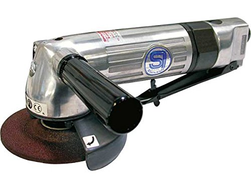 SHINANO SI-2500L 100MM GOVERNED PNEUMATIC (AIR) ANGLE GRINDER 11000RPM LEVER THROTTLE by Prasertsteel