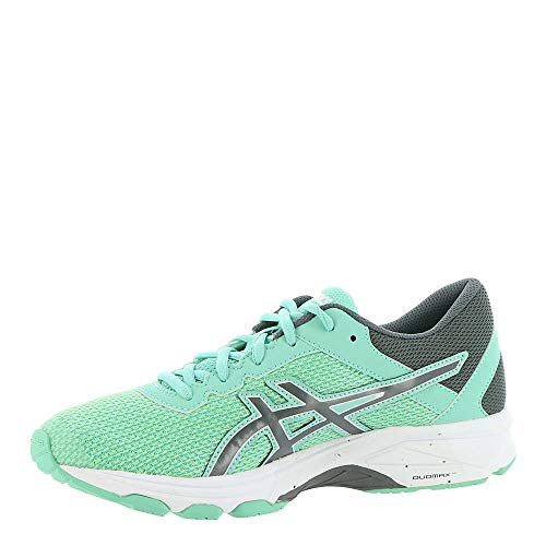 ASICS GT-1000 6 GS Kid's Running Shoe. Patina Green/Carbon/Opal Green, 6.5 M US Big Kid by ASICS (Image #3)