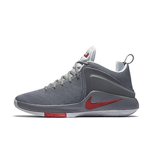 Nike Scarpe da Basket Zoom TESTIMONE Grigio