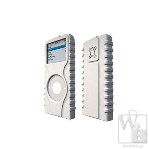 XtremeMac TuffWrap Ice Case for iPod nano 2G (White)