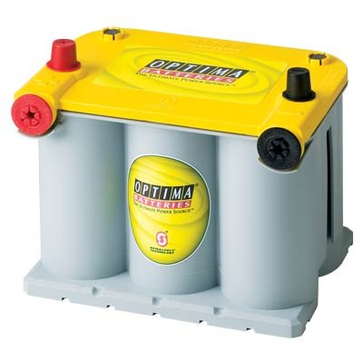 (Optima Battery D7525 YELLOW TOP GRP75)