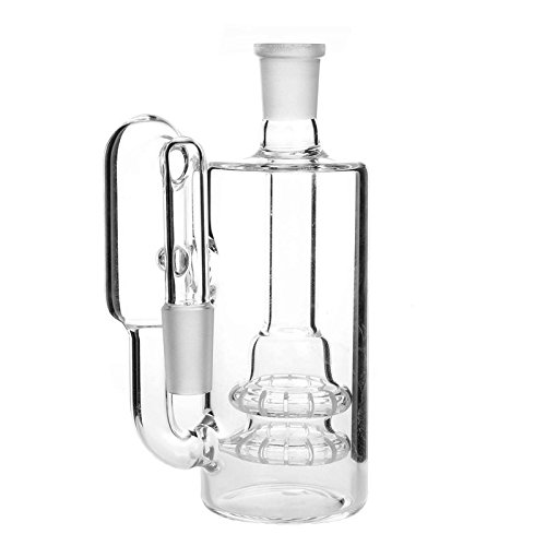 Aoheuo New Arrival Glass Perc Recycler Ash Catcher 14/18mm (Ash Catcher)