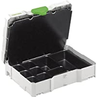 Festool 497692 SYS 1 Uni Small Part And Fastener Organizer, Systainer 1 by Festool