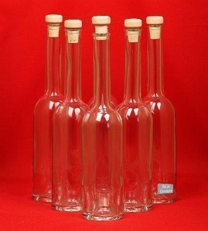 Botella de Vidrio Vacía 100/200/350/500 ml 6 Unidades Opera con