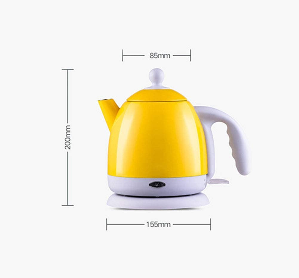 Q&Z Electric Kettle HotCup Hot Water Dispenser Fast Boiling Kettle BPA Free 304 Stainless Steel Kettle with Boil Dry Protection 1000W 1L Automatic