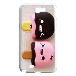 custom samsung galaxy note2 n7100 Case, marshmallow kawaii cell phone case for samsung galaxy note2 n7100 at Jipic (style 1)