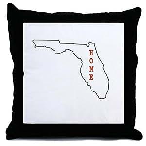 wuqing Home Florida State cuadrado Decor Throw funda de almohada cojín 18pulgadas