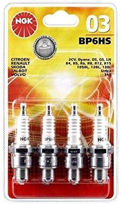 ngk spark plugs NGK08 Blister BKR5EK Bougies Set de 4