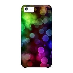 Premium Color Bokeh Heavy-duty Protection Case For Iphone 5c