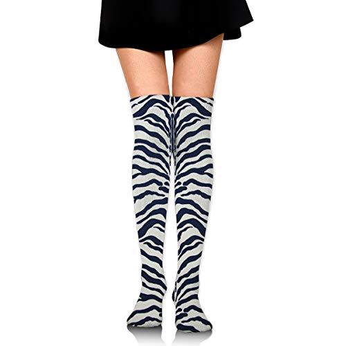 - Zebra Stripes Pattern Cotton Compression Socks for Women. Graduated Stockings for Nurses, Maternity, Travel, Flight,Varicose Veins,Running & Fitness, Calf Support.