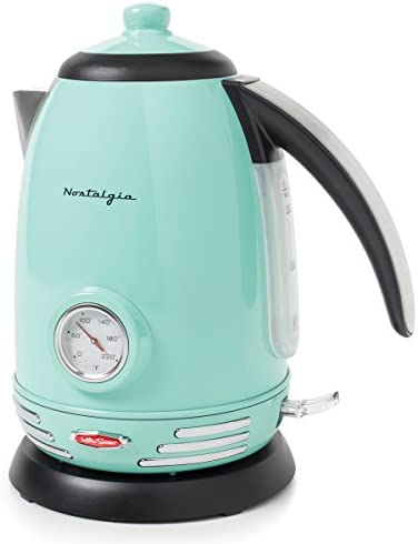 Nostalgia RWK150AQ Stainless Electric Kettle product image