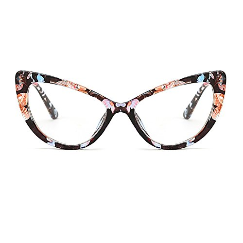 de del del mujeres estilo la Gafas diseñador de para sol sol moda C9 mod vendimia de ojo de FuyingdaGafas del del gato de las qTAnBO