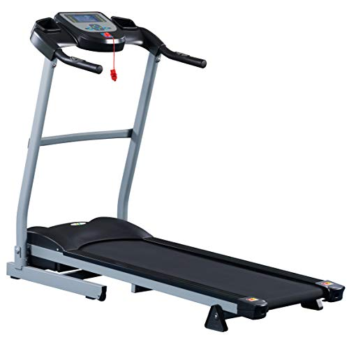 Fit4Home Premier Treadmill-TF-370, Black and Grey,