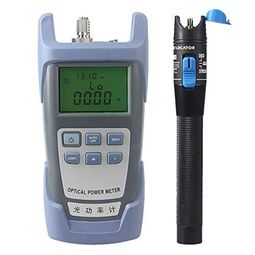 SM SunniMix AUA-9-70dBm~+10dBm 850~1625nm Optical Power Meter Tester FC SC Handheld Optical Power Meter + with 1mW Visual Fault Locator Pen Tools by SM SunniMix (Image #3)