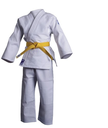 adidas Anzug Judo Uniform Club, brilliant white, 140, J350