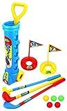Best Velocity Toys Golf Clubs - Champion Sport Children Kid's Toy Golf Golfing Playset Review