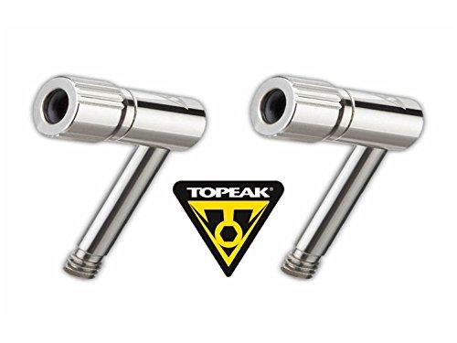 Topeak Pressure Rite Presta Valve Adapter - TWO (2) PACK