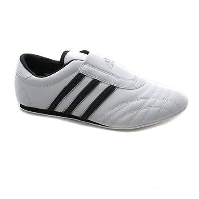 37ea367e2603 Adidas Taekwondo Enfiler Rare Blanc Cuir Hommes Chaussures Baskets EUR 40  2 3
