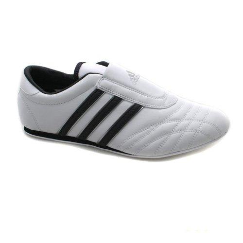 adidas slip on trainers white