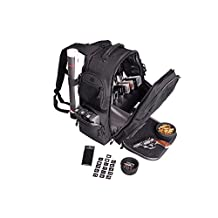 GPS GPS-1812BPG Executive Backpack with Cradle for 5 handguns in Gray