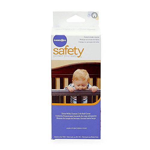 Babies R Us Extra Wide Gummi Crib Teething Rail Cover Baby Toddler Baby Safety Baby Safety Rails
