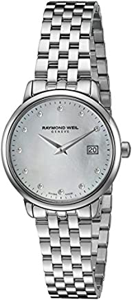 Raymond Weil Women's 'Toccata' Swiss Quartz Stainless Steel Dress Watch,…