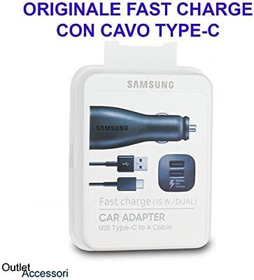 Original SWAT Cargador rápido USB dual de coche para Samsung S8 - S9 Plus